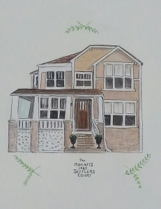 S. Macera Custom Home Portrait