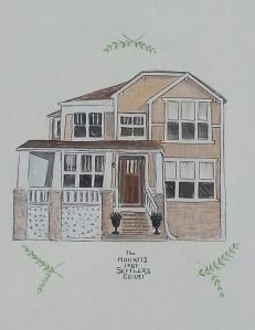 S. Macera Custom Home Portrait