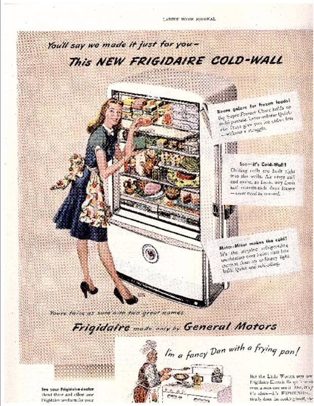Ladies Home Journal Advertisement 1947