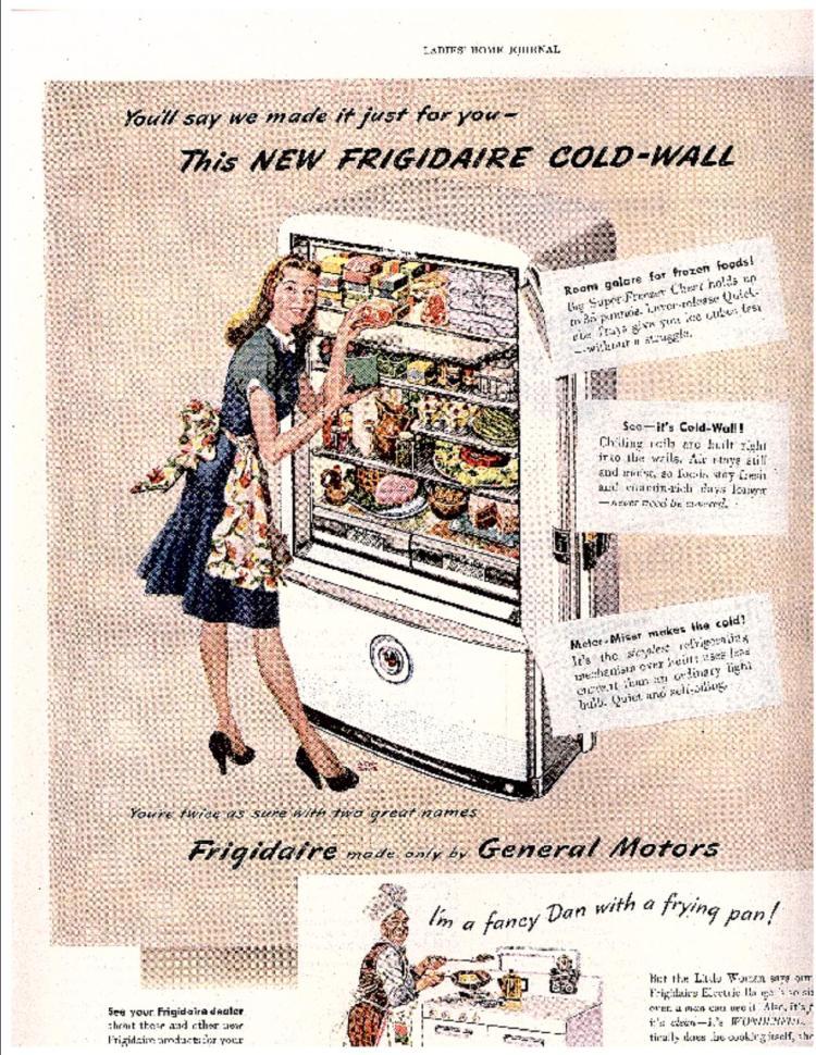Ladies Home Journal Advertisement 1947