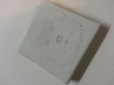 Bichon Frise rouch sketch