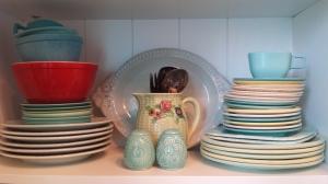 Vintage dishware
