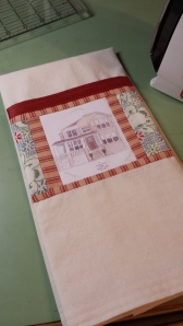Little House Tea Towel S. Macera