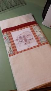 Little House Tea Towel S. Macera