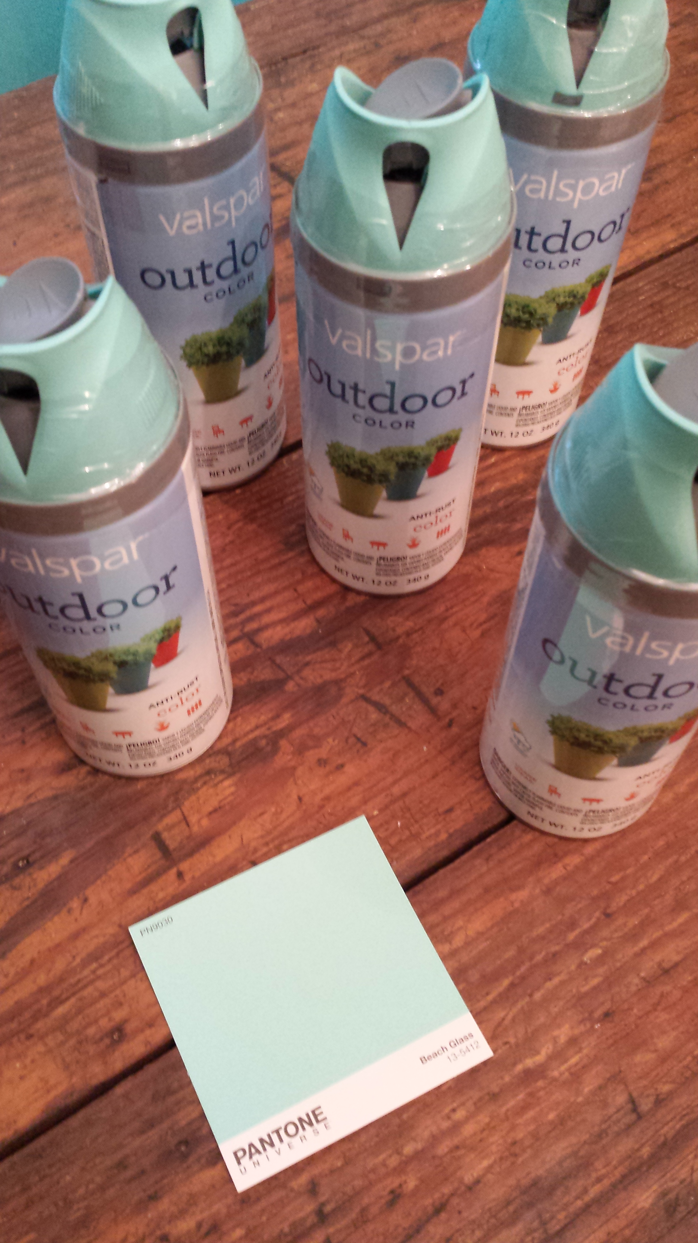 Painting furniture – an aqua, weekend makeover: | Stephanie