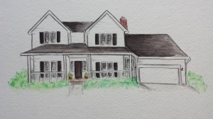 House Portrait, Stephanie Macera