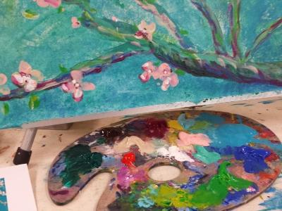 Painting a Van Gogh