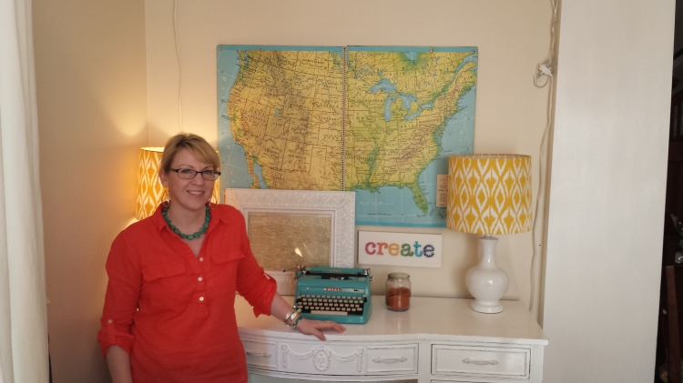 Creating at the Whatever Craft House, Newton, KS