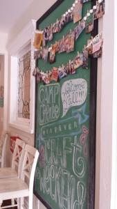 Kitchen art, and memories.