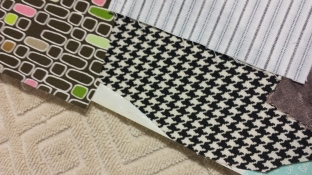 Place excess fabric scraps over exposed HeatnBond gaps to protect your iron, and make the most of your product yardage.