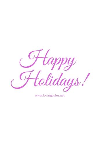 Holidays!