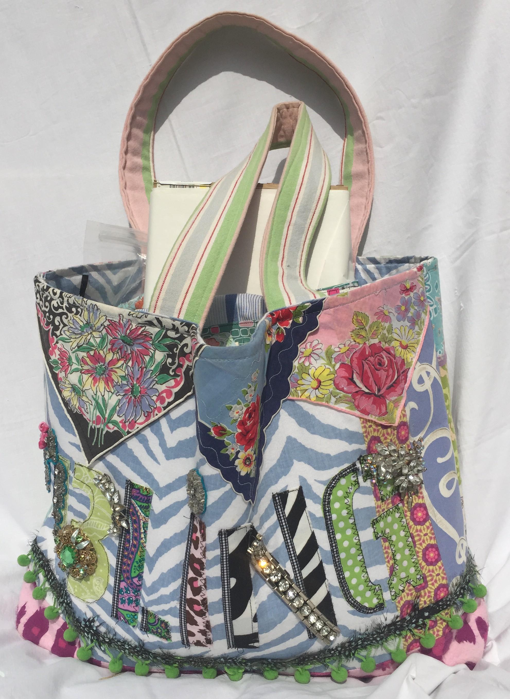Junk Bag, Jackie Clark Designs Jackie Clark, Stephanie Macera and Beverly Bishop