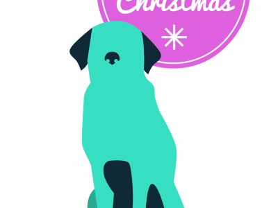 Using www.canva.com, a beautiful graphic Christmas Card is created for free!
