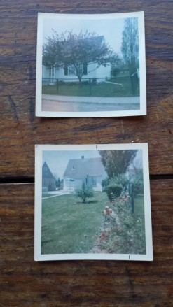 Vintage color photos of Canadian Victory Houses after WWII, House portrait by S. Macera: lovingcolor.net