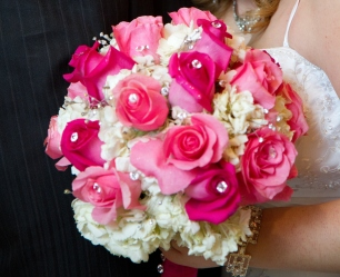 Wedding bouquet of client's daughter.