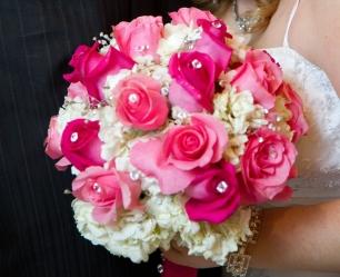 Wedding bouquet of client's daughter.