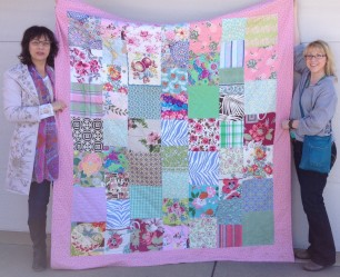 Jackie Clark and Stephanie Macera quilt 2016