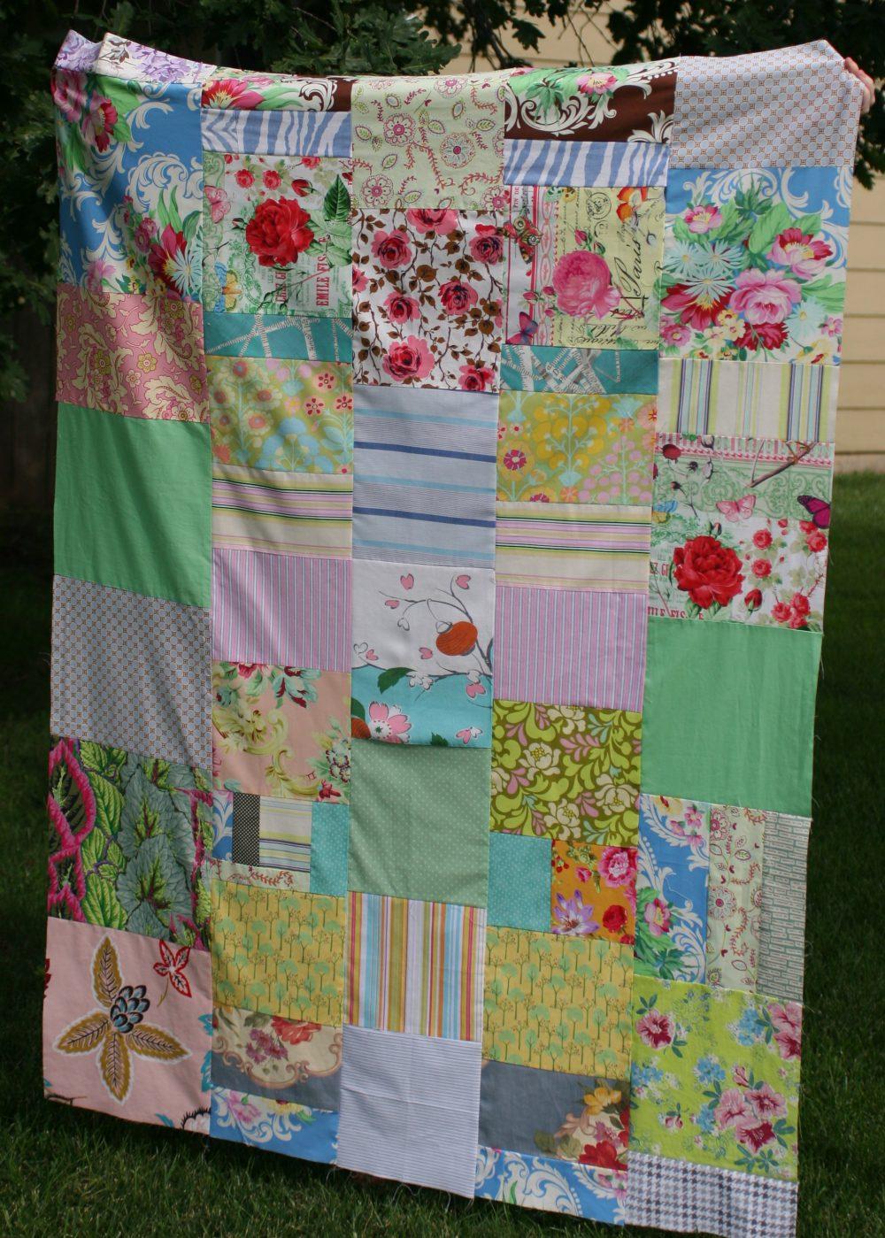 Large patchwork quilt 2016 Lovingcolor S. Macera